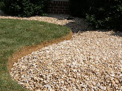 Stone Installation with Mulch Masters